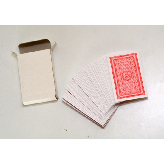 Indian Blank Face Card Deck