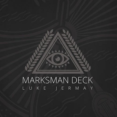 Marksman Deck (Gimmicks and Online Instructions) by Luke Jermay