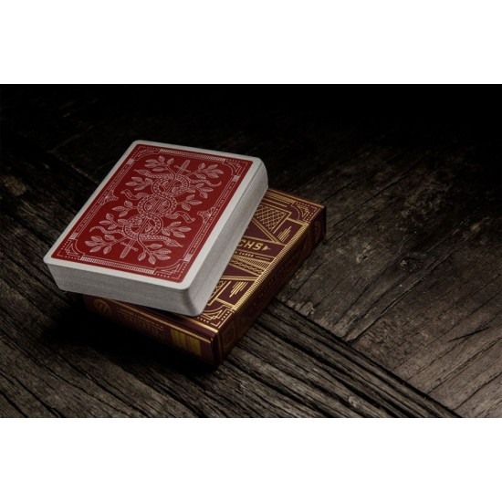 Monarch Playing Cards - Red