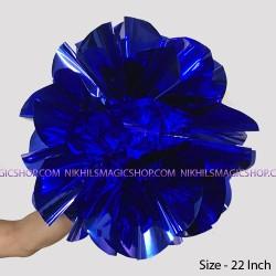 Spring Flower Giant (Mylar) - Blue