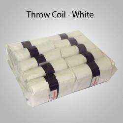 Throw Coil - White