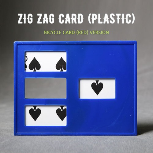 Zig Zag card (Bicycle Card)
