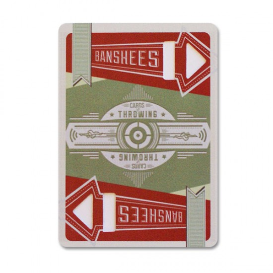 Banshees: Cards for Throwing (2nd edition) with Online Instructions