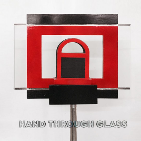 Hand Through Glass
