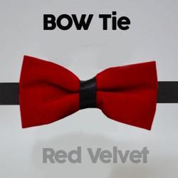 Magicians Bow Tie - Red Velvet