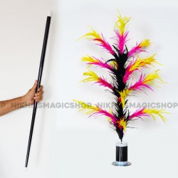 Vanishing Cane To Flower Magnetic (Multicolor)