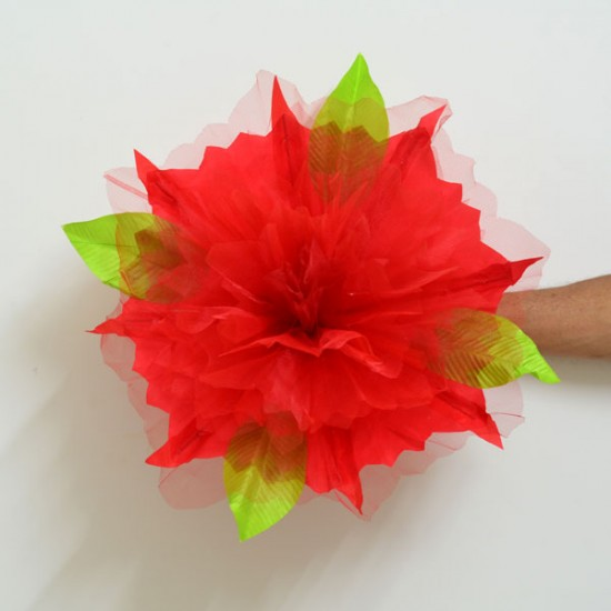 Peony Production  7 inch Small (Red)