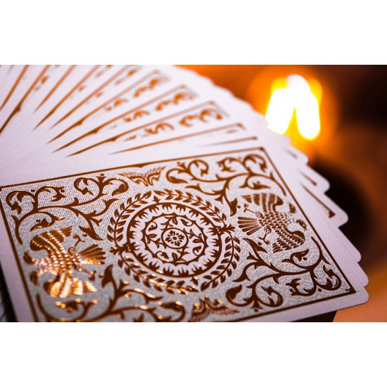 Regalia White Playing Cards by Shin Lim