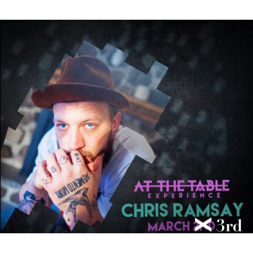 At the Table Live Lecture Chris Ramsay March 2nd 2016 ( VIDEO DOWNLOAD )