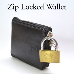 Zip Locked Wallet