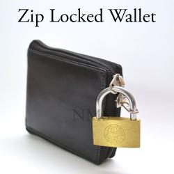 Zip Locked Wallet