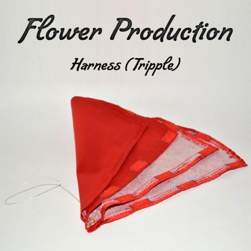 Flower Production Harness (Triple)-black