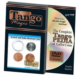 Scotch And Soda Mexican Coin (D0050) by Tango