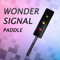 Wonder Signal (Traffic Light Paddle)