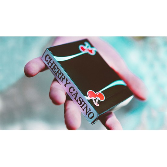 Cherry Casino V3 True Black Playing Cards
