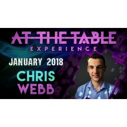 At The Table Live Lecture Chris Webb January 3rd 2018 (VIDEO DOWNLOAD)