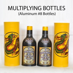 Multiplying bottles (8 bottles aluminum)
