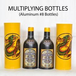 Multiplying bottles (8 bottles aluminum)
