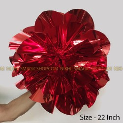 Spring Flower Giant (Mylar) - Red
