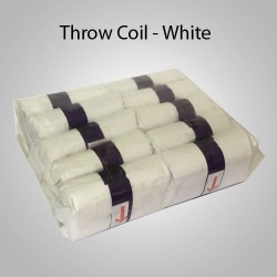 Throw Coil - White