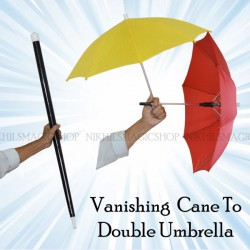 Vanishing Cane To Double Umbrella
