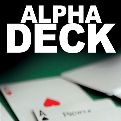 Alpha Deck (Cards and Online Instructions) by Richard Sanders