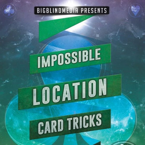 Impossible Location Card Tricks by John Carey (VIDEO DOWNLOAD)