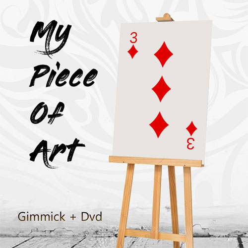 My Piece of Art (DVD and Gimmick)