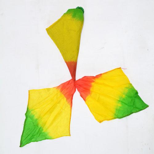 Triple Color Blending Silk