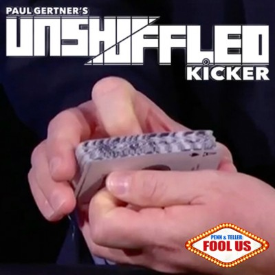 Unshuffled Kicker (Gimmick and DVD) by Paul Gertner