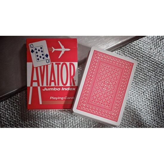 Aviator Poker size (Red)