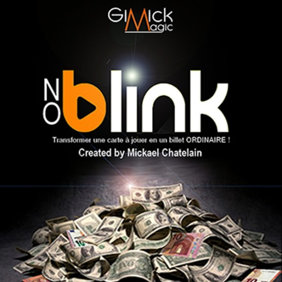 No Blink Red (Gimmick and Online Instructions) by Mickael Chatelain