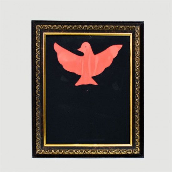 Color Changing Dove Frame
