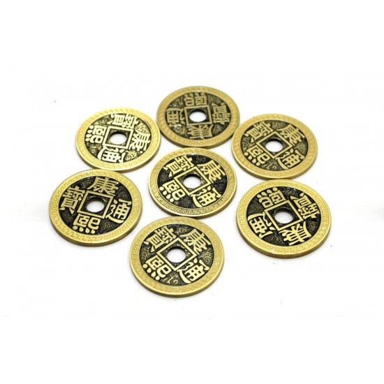 Chinese Coin Set Half Dollar Size (with DVD)