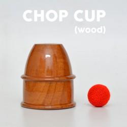 Chop Cup Wooden DLX
