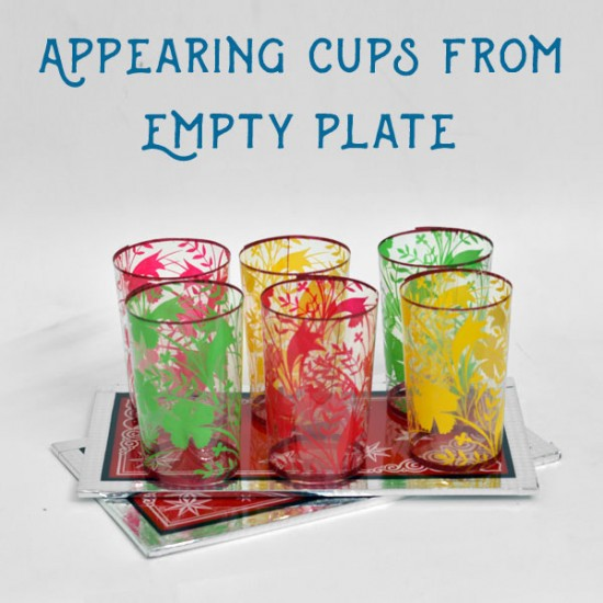 Appearing Cups From Empty Plates (Economy)