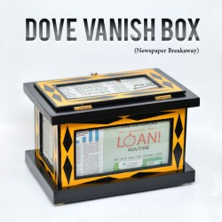 Dove Vanish Box (Newspaper Breakaway)