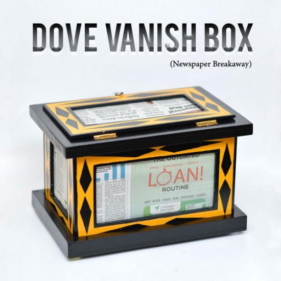 Dove Vanish Box (Newspaper Breakaway)