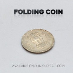 Folding Coin (Rs.1 old coin)
