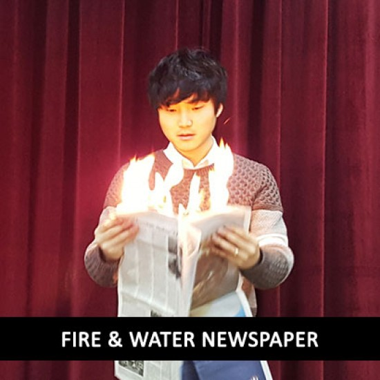 Fire and Water Newspaper