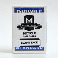 Bicycle Blank face Deck Blue (52 cards)