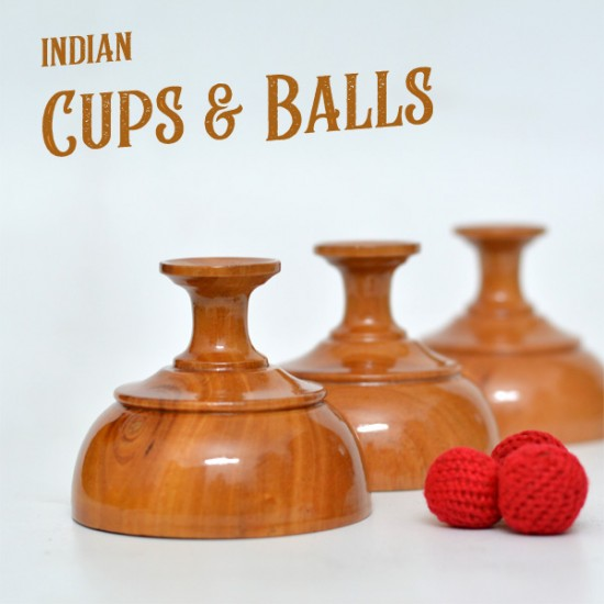 Indian Cups & Balls Set