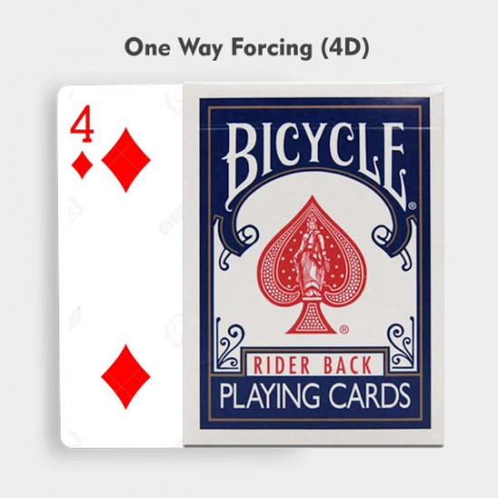 One Way Forcing Deck Blue (4d)