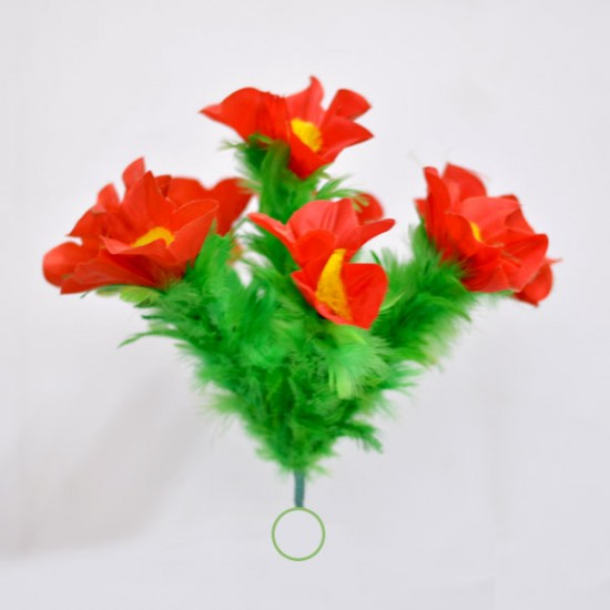 Appearing Flower Bouquet Set (Red & yellow)