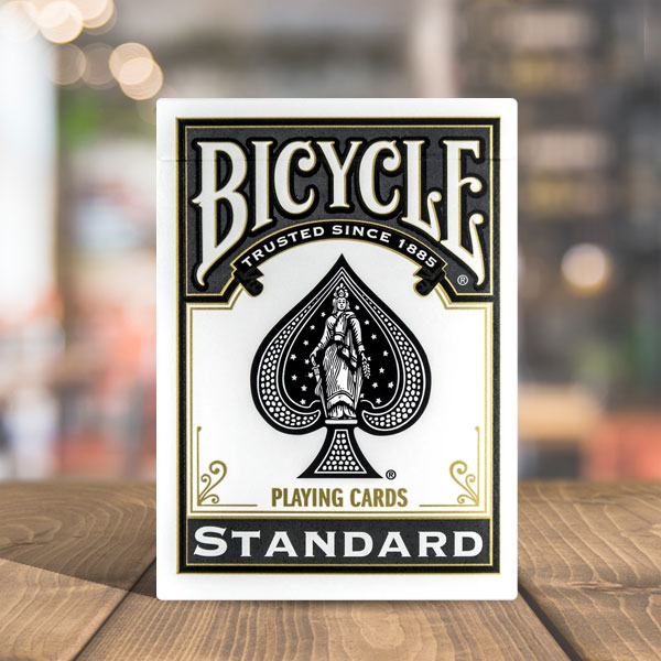 Bicycle Standard Black Back Playing Cards