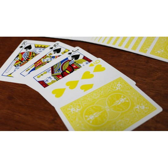 Bicycle Yellow Playing Cards
