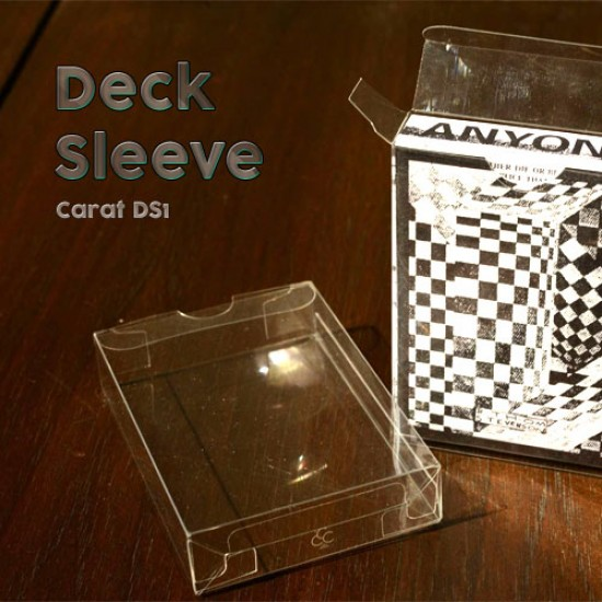 Carat DS1 Deck Sleeves
