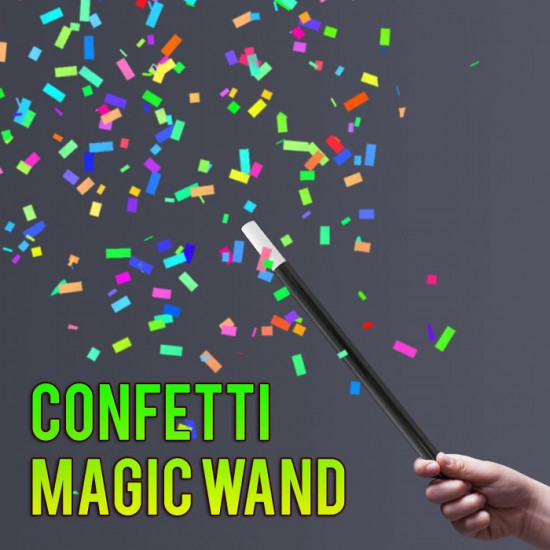 Confetti Wand - With Refills