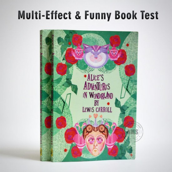 Multi-Effect & Funny Book test