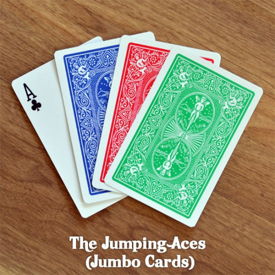 Jumping Aces (Jumbo Cards)